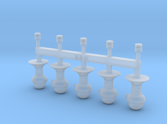 NZR Pintsch Gas Light 3d printed