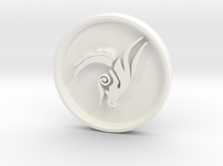 Tribal Dragon 3d printed
