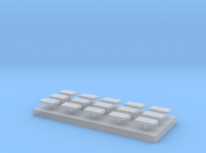 15 Eurobalisen 1:160 (N scale) 3d printed