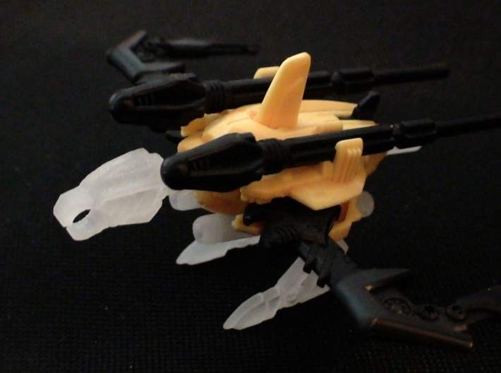 BH Archer Warhead Bow Full Upgrade Kit 3d printed