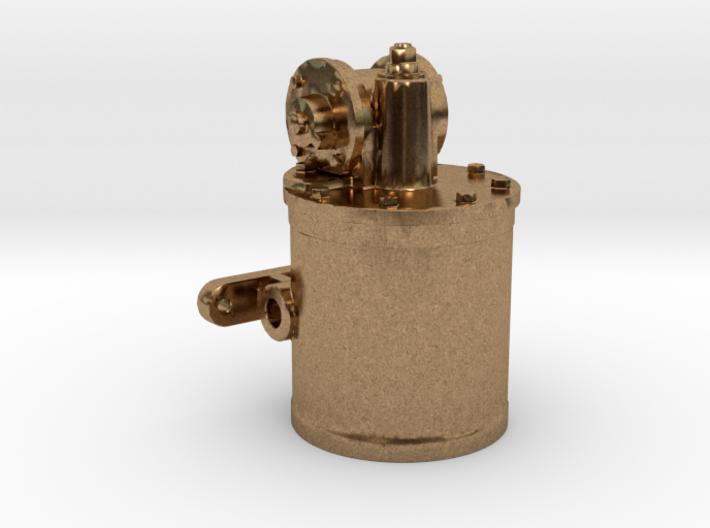 Air Pump - 8 In. - Top REV .625 Plus 1% 3d printed