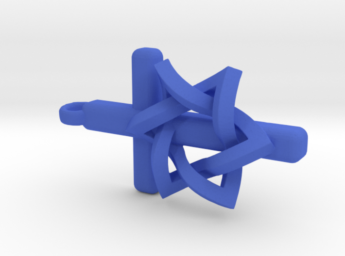 Cross and the Star of David as one 3d printed