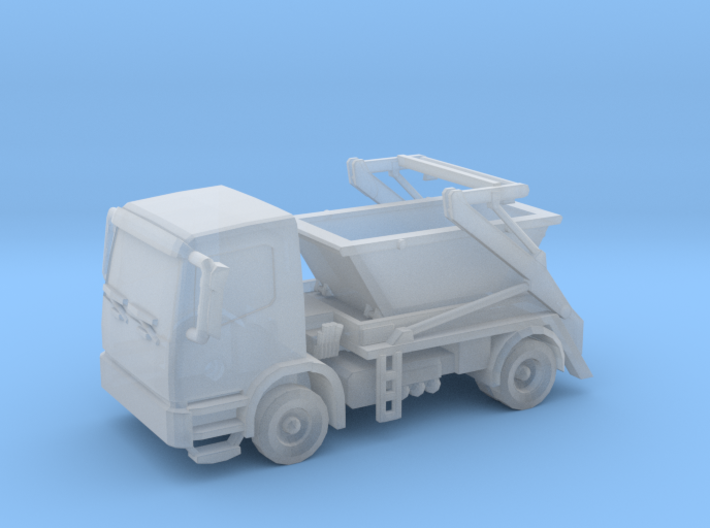 Truck & Container 01. Z Scale (1:220) 3d printed