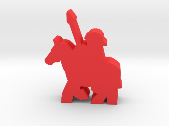 Game Piece, Roman Cavalry 3d printed