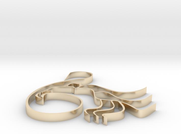 Three-legged 3d printed
