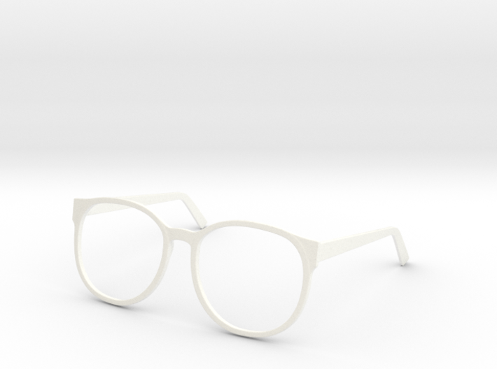 Clark Kent glasses (wearable) 3d printed