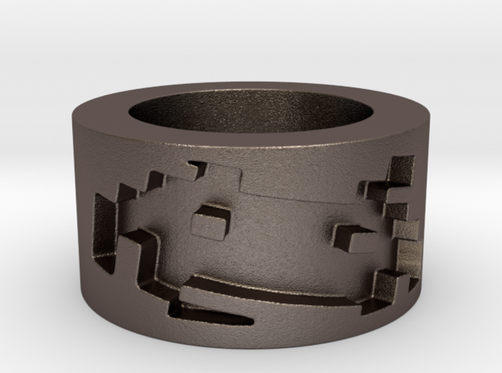 Invasion Ring Size 8 3d printed