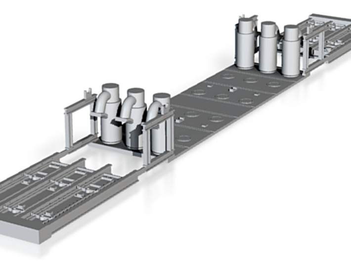 N-scale coke ovens 3d printed