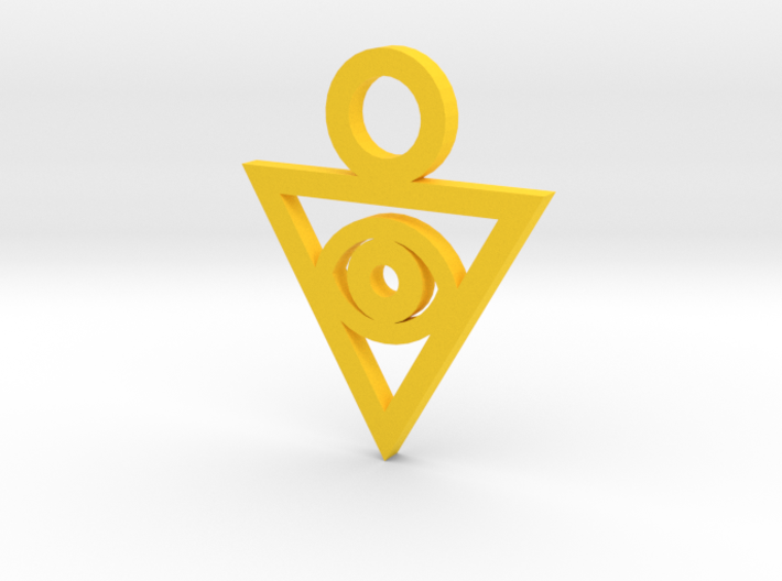 Aigami's Pendant- Yu-Gi-Oh! Darkside of Dimensions 3d printed