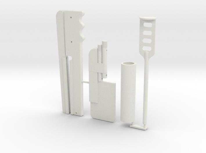 Boba Fett ESB Shin Tools 1/4th Scale 3d printed