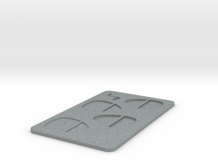 PICK Card 3d printed