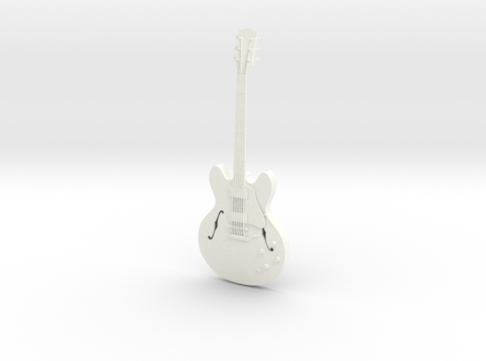 Gibson ES 335, Scale 1:6 3d printed