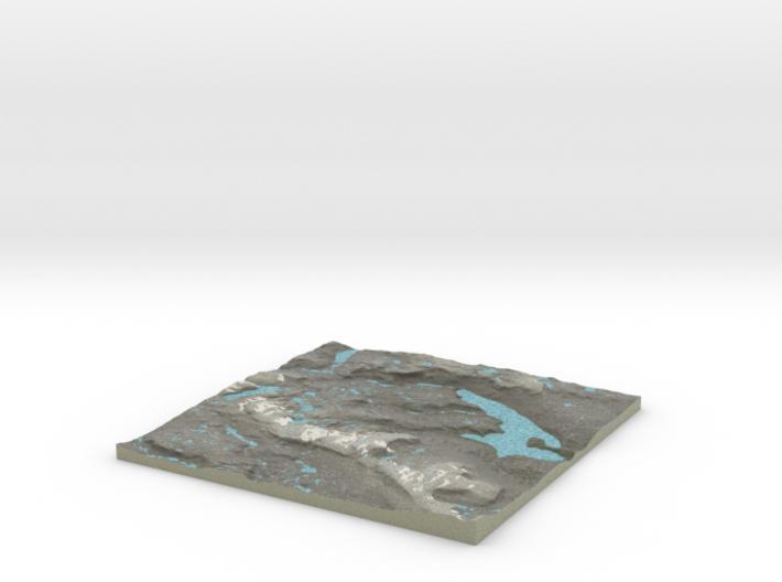 Terrafab generated model Fri Jan 01 2016 23:23:49 3d printed