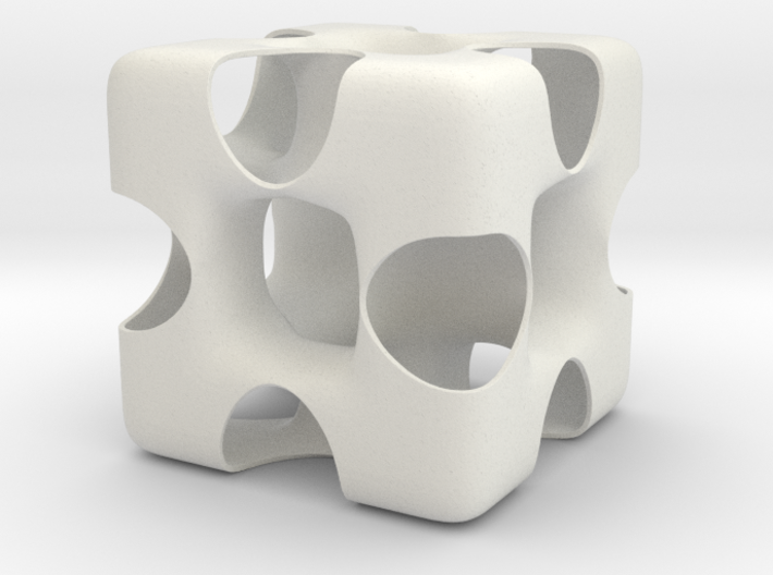 Wormhole Cube 3d printed