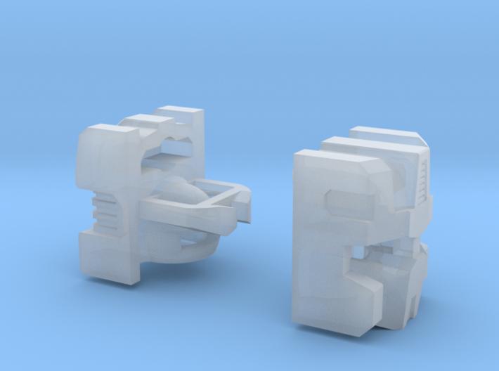 Combat Orbiter's Head 3d printed