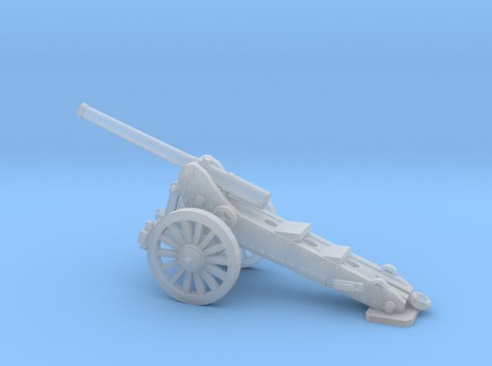 1/160 De Bange cannon 155mm 3d printed