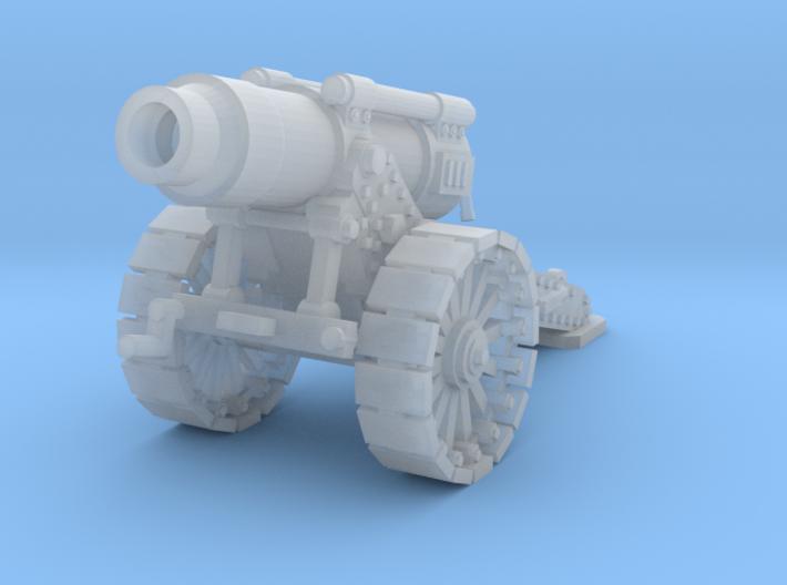 28mm Steampunk Heavy Mortar v.2 3d printed
