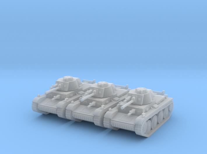 1/160 Pz 38(t) tank 3d printed