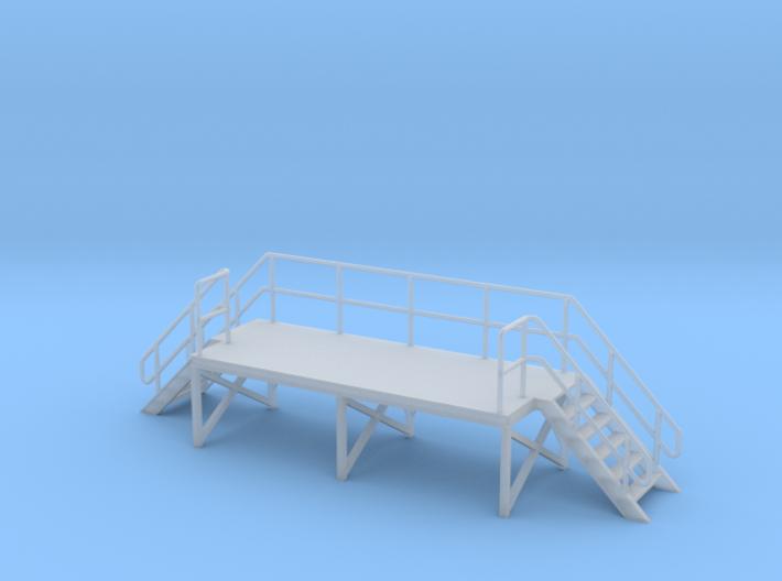 HO Train Crew Platform 3d printed