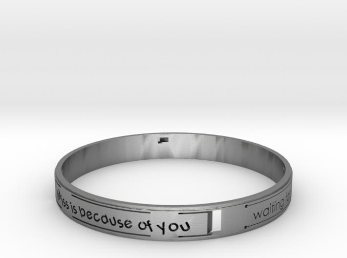 Heart of Bracelet.STL 3d printed