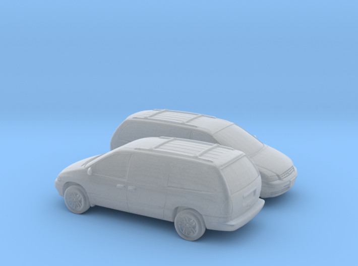 1/160 2X 1995-2000 Plymouth Grand Voyager 3d printed
