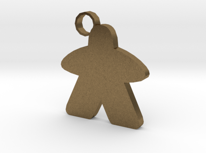 Keychain person 3d printed