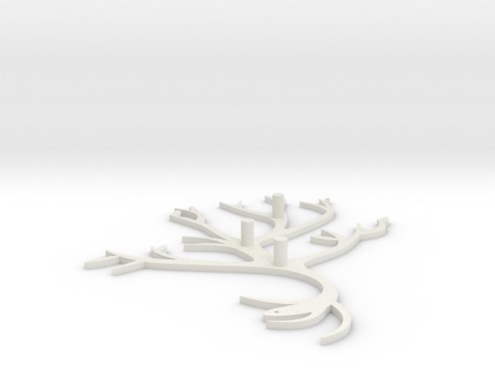 Branch Hook 3d printed