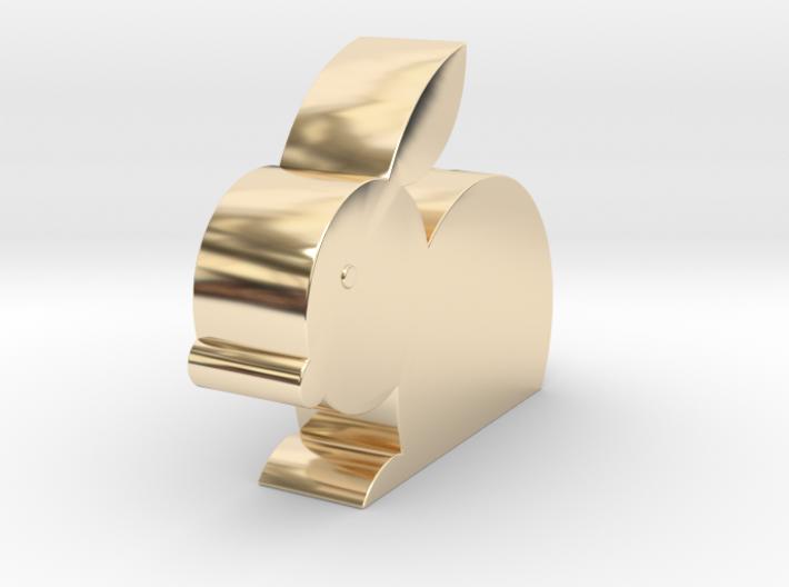 兔子存錢筒.stl 3d printed