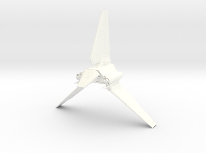 Imperial Lambda Shuttle - Wings Extended 3d printed