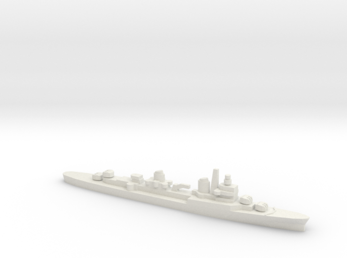 ITS Captaini Romani Class Cruiser, 1/2400 3d printed