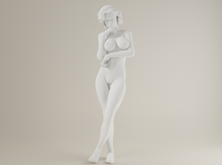 1:24 Short Haired Girl-012 3d printed