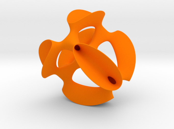 A smoothed Kummer Surface 3d printed