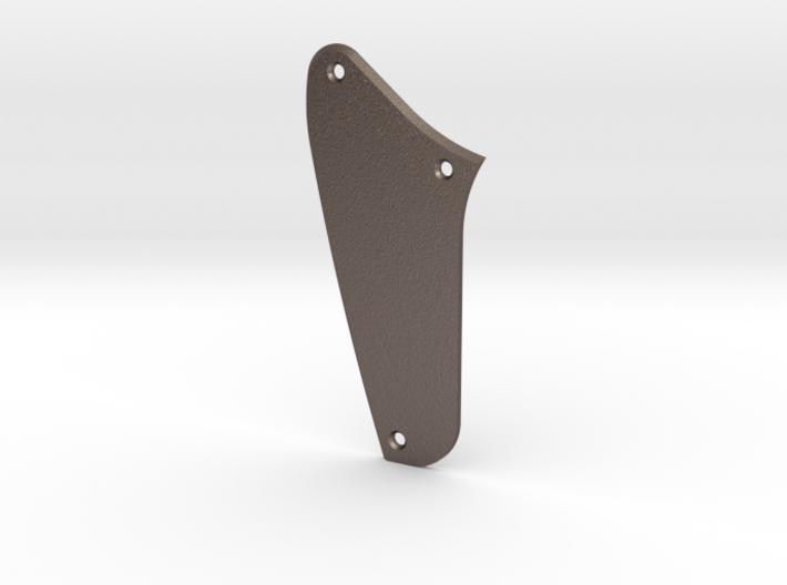 Jaguar Rhythm Circuit Control Plate - Blank Bevel 3d printed