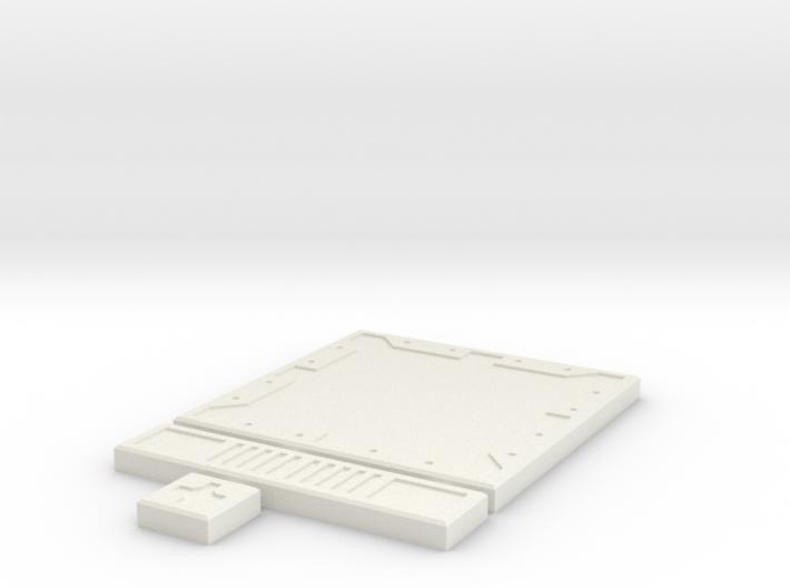 SciFi Tile 01 - Default 3d printed