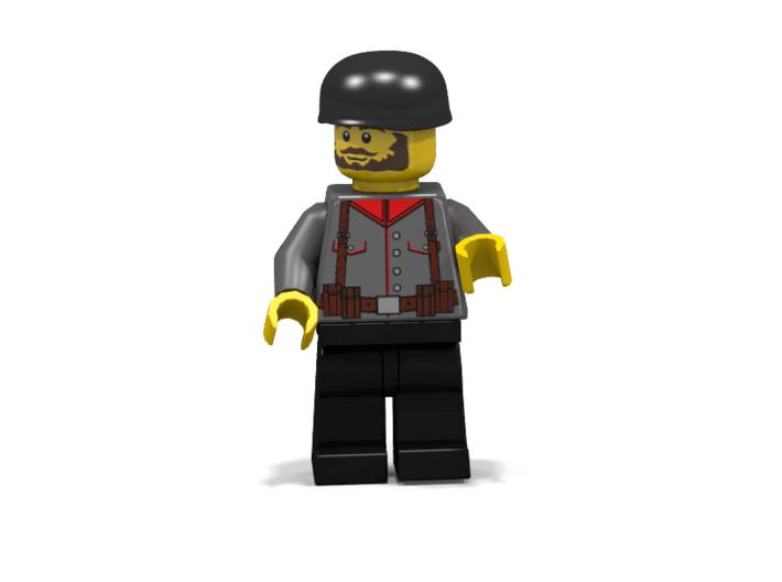 Paratrooper Helmet 3d printed