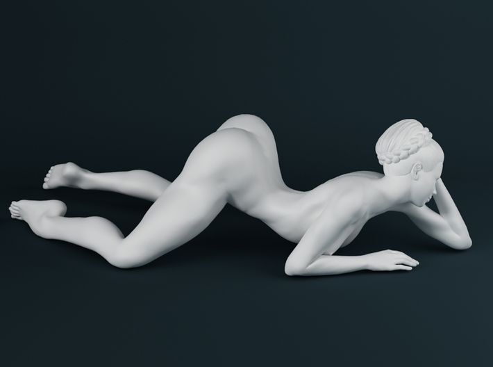 1:32 Strong Woman 001 3d printed