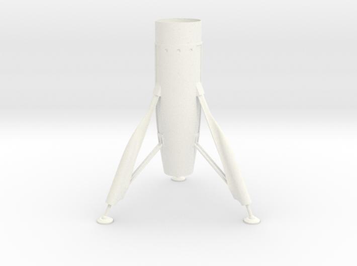 Disney Moonliner Fin Unit for BT60 3d printed