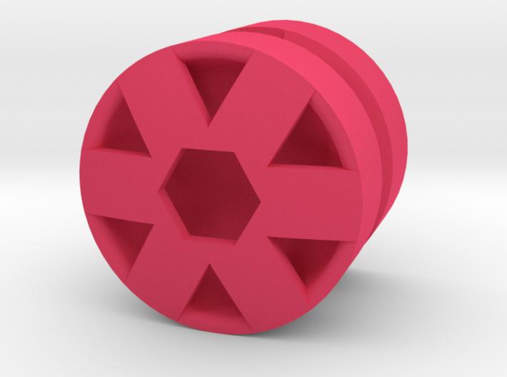 HEX_1814RS - LEGO-Compatible Custom Rims 3d printed