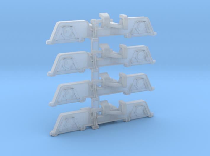 Blenden Für LH-DG 4St 3d printed