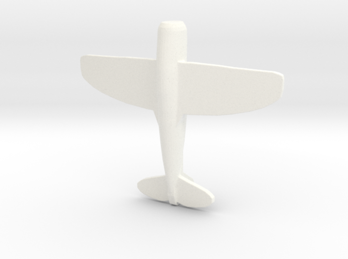 1/285 (6mm) P-47 Thunderbolt Fighter 3d printed