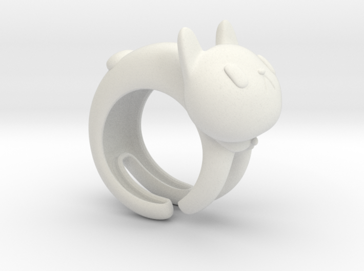 CatRing size 9 3d printed