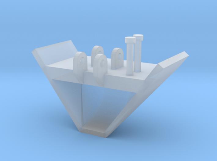 1/64 V Bucket 3d printed
