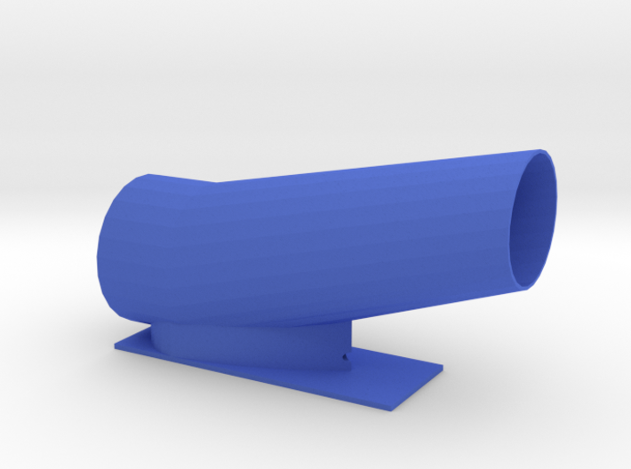 52mm Duct for pinewood derby 3d printed