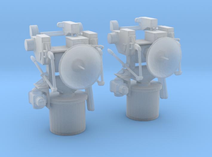 1/96 USN MK 57 Director Set  3d printed