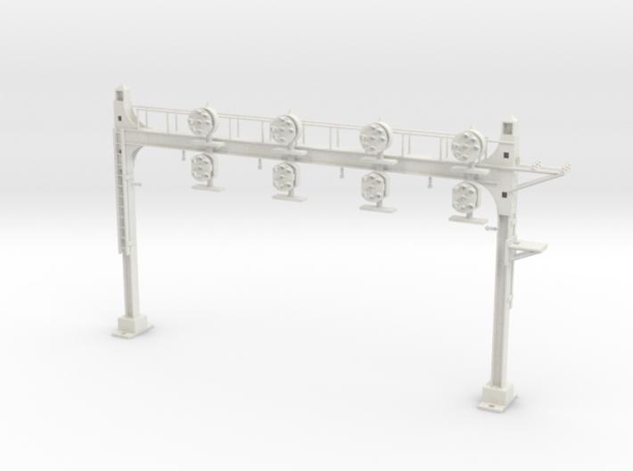 HO Scale PRR W-signal Beam 4 Track 3d printed