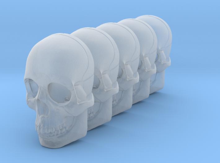 Bsi-skull-human-15mm-jaw 023 3d printed