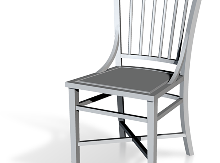 1:48 French Country Chair 3d printed