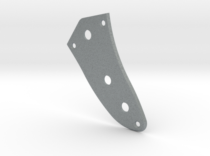Jaguar Lower Control Plate - Standard Beveled 3d printed