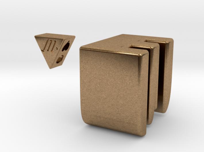 [customize] Triangle pendant 3d printed