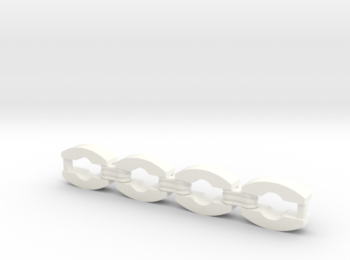 Jacket Chain Assembly 3d printed